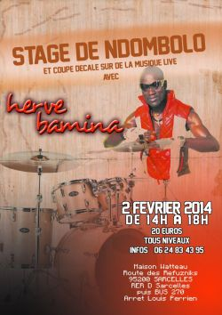 Stage Ndombolo Coupe Decale Herve Bamina