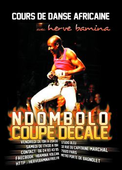 Cours Ndombolo Coupe Decale Herve Bamina 2013-2014